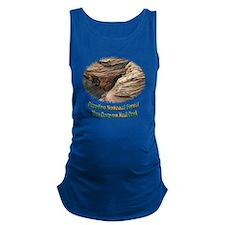 Glen Canyon shale Maternity Tank Top