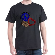 blue red, PL Bacon T-Shirt