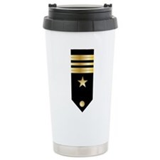 Lt. Commander Board Ceramic Travel Mug