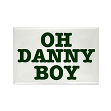 OH DANNY BOY Rectangle Magnet