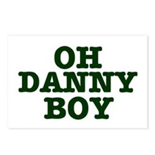 OH DANNY BOY Postcards (Package of 8)