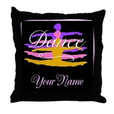 Dance Customizeable Throw Pillow