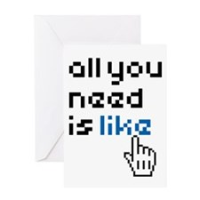 all-you-need-is-like-01a Greeting Card