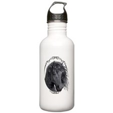 black_horse_hell_freig Water Bottle