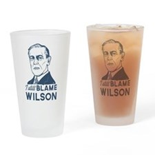 I Still Blame Wilson Drinking Glass
