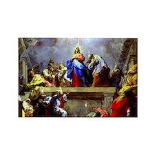 Pentecost complete1 Rectangle Magnet