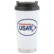 cafepress oval sticker OUSA Ceramic Travel Mug