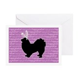 Pekingese Bunny Greeting Cards (Pk of 10)