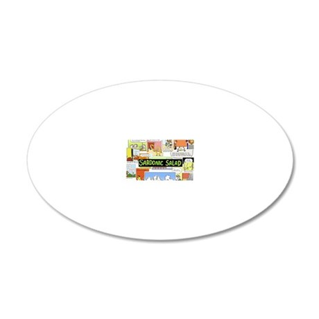 calendercover 20x12 Oval Wall Decal