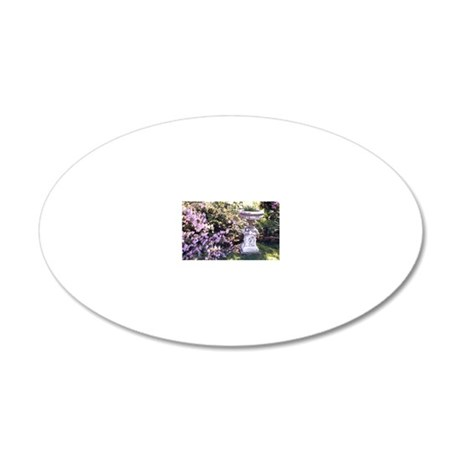 Picture 986 20x12 Oval Wall Decal