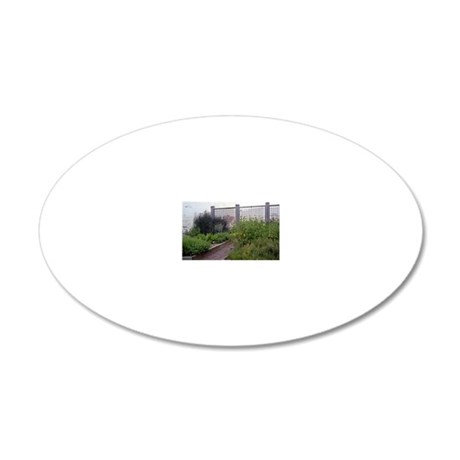 Picture 2257 20x12 Oval Wall Decal