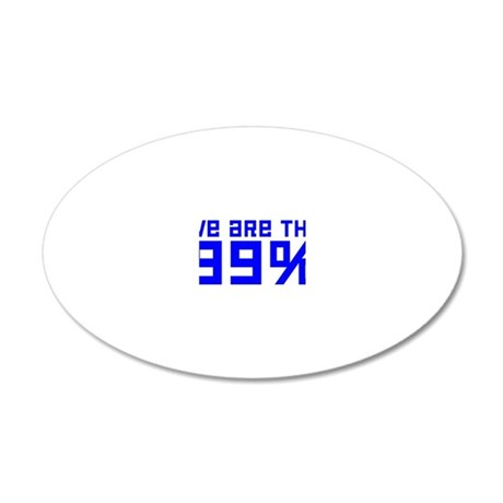 99 20x12 Oval Wall Decal