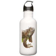 Iguana_logo_XLarge_tri Sports Water Bottle