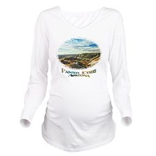 color painted desert Long Sleeve Maternity T-Shirt