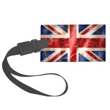 475 Union Jack Flag laptop skin Luggage Tag