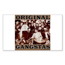 Original Gangstas Rectangle Decal