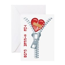 Zipper Greeting Card