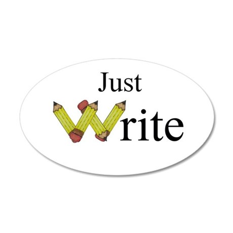Just Write Wall Decal