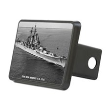 dmoines framed panel print Hitch Cover