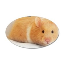 Hamster calendar cover Wall Decal