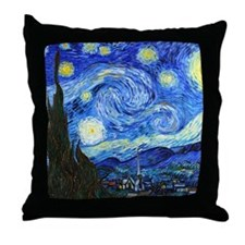 12mo VG Starry Throw Pillow