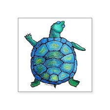 """turtleboogie Square Sticker 3"""" x 3"""""""