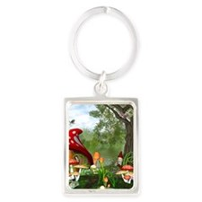 dwarfesland_iphone_4_slider_case Portrait Keychain