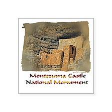 """Montezuma Castle Square Sticker 3"""" x 3"""""""