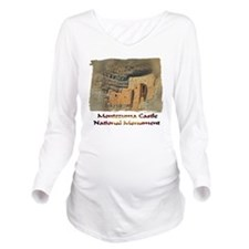Montezuma Castle Long Sleeve Maternity T-Shirt