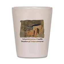 Montezuma Castle Shot Glass