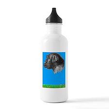 Chimp renee copy Water Bottle