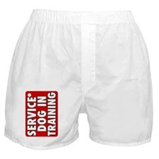 Service Dog in Training Boxer Shorts