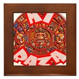 Mi Raza Framed Tile