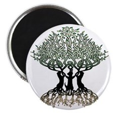 Ferret Tree of Life 2 Magnet