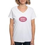 Pro Choice Women's V-Neck T-Shirt