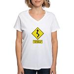 An Arrow Women's V-Neck T-Shirt