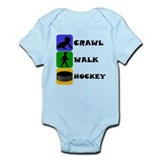 Crawl walk hockey Bodysuits