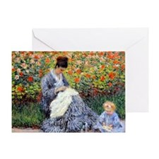 12mo Monet 5 Greeting Card