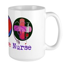 peace_love_nurse_1 Coffee Mug