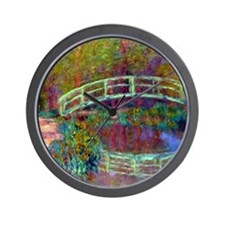 12mo Monet 13 Wall Clock