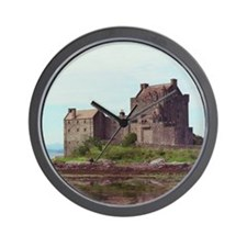 Elian Donan Castle Wall Clock