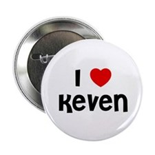 "I * Keven 2.25"" Button (10 pack)"