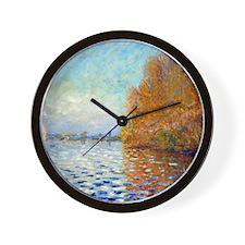 12mo Monet 34 Wall Clock