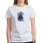 """THE HUMANS HAVE LANDED"" women's t-shirt"