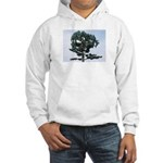 Different Tree, hooded sweatshirt