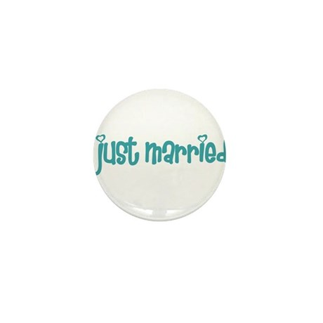 just married Mini Button (10 pack)