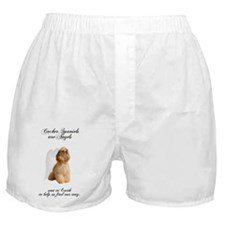 CockerAngelDark2 Boxer Shorts