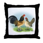 Blue Quail OE Throw Pillow