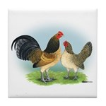 Blue Quail OE Tile Coaster