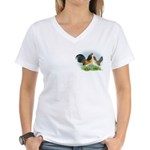 Blue Quail OE Women's V-Neck T-Shirt